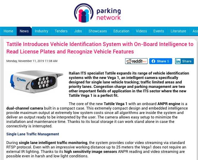 single-lane-tracking-Vega1-on-Parking-Network