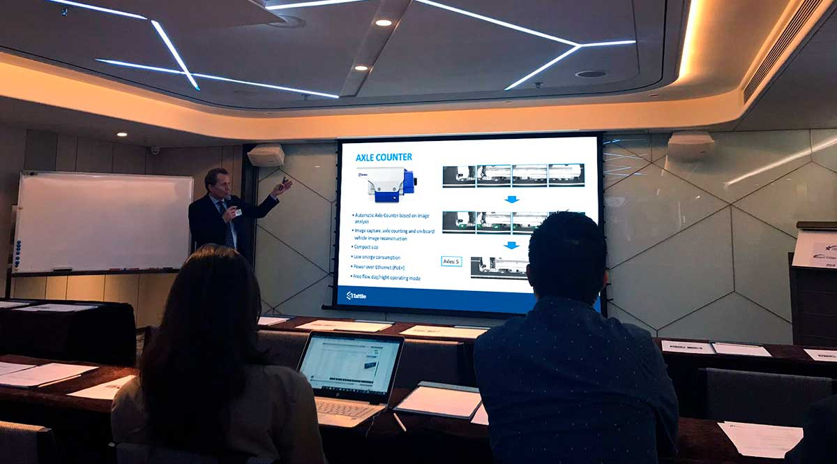 Corrado Franchi at Smart Cities Summit Hong Kong